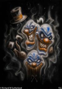 Nasty clowns