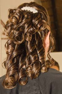 Michelle hairstyling