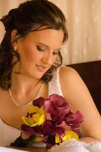 Michelle wedding curls