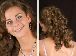 Hairstyle for 2009 Valentines day
